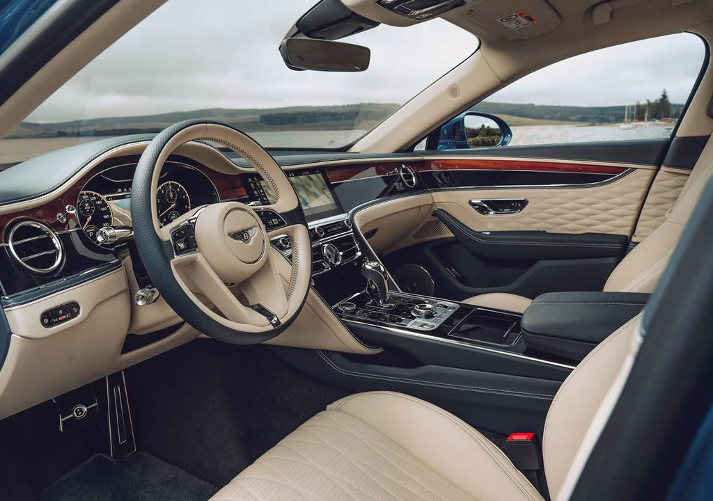 2020 Bentley Flying Spur First Edition Kokpiti