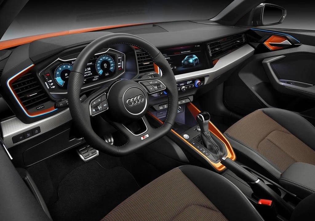 2020 Audi A1 Citycarver İçi