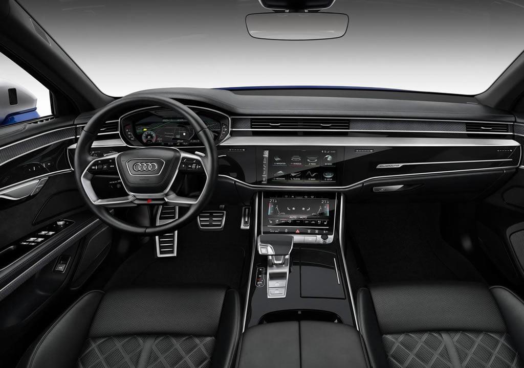 2020 Yeni Audi S8 D5 İçi