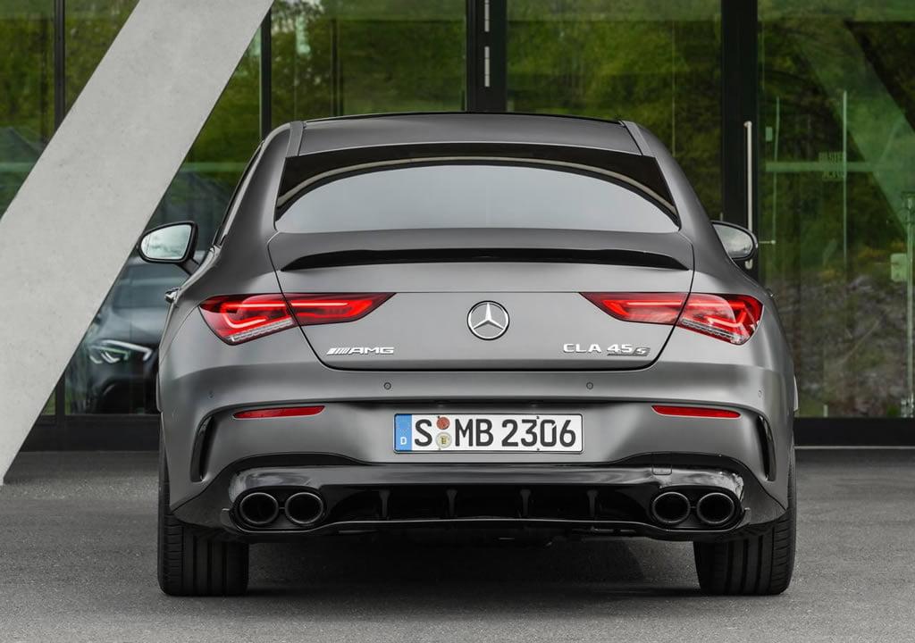 2020 Yeni Kasa Mercedes-AMG CLA45 S 4Matic Fotoğrafları