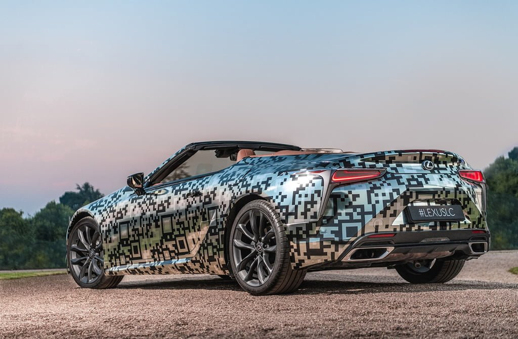 2020 Yeni Lexus LC Convertible