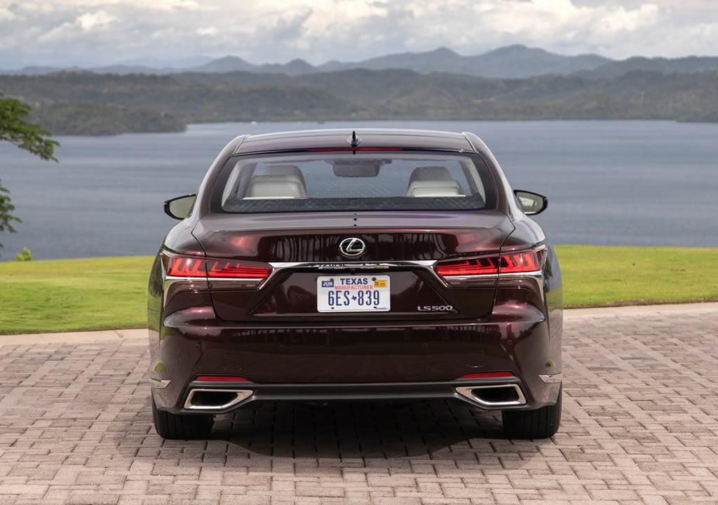 2020 Yeni Lexus LS 500 Inspiration Fotoğrafları