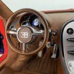 Bugatti Veyron İçi