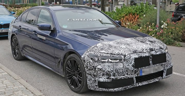 Makyajlı 2020 BMW 5 Serisi Sedan