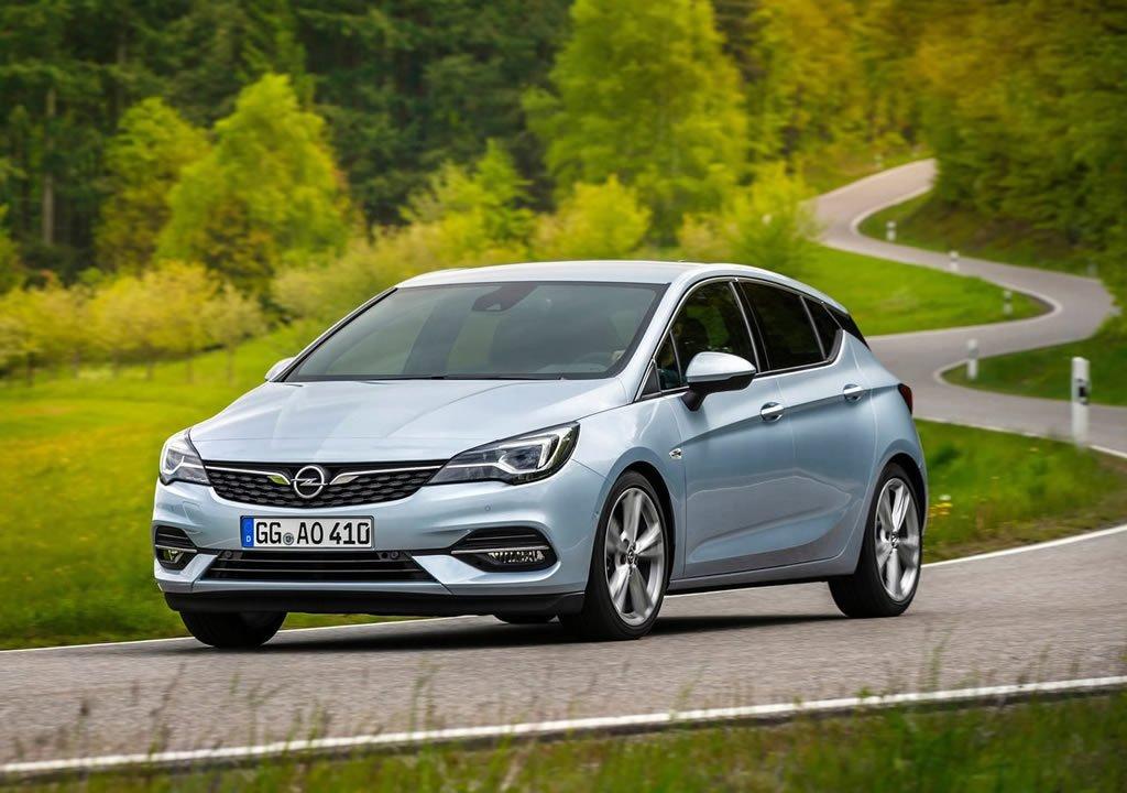 Makyajlı 2020 Opel Astra Donanımları
