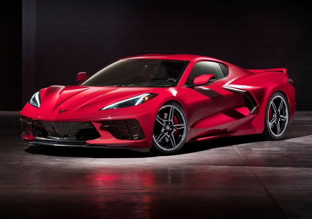 Yeni Chevrolet Corvette C8 Stingray