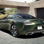 2020 Lexus LC 500 Inspiration Serisi Özellikleri