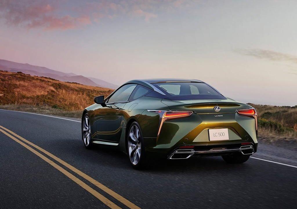 2020 Lexus LC 500 Inspiration Serisi Fotoğrafları