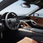 2020 Lexus LC 500 Inspiration Serisi Kokpiti