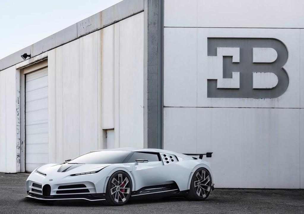 2020 Yeni Bugatti Centodieci