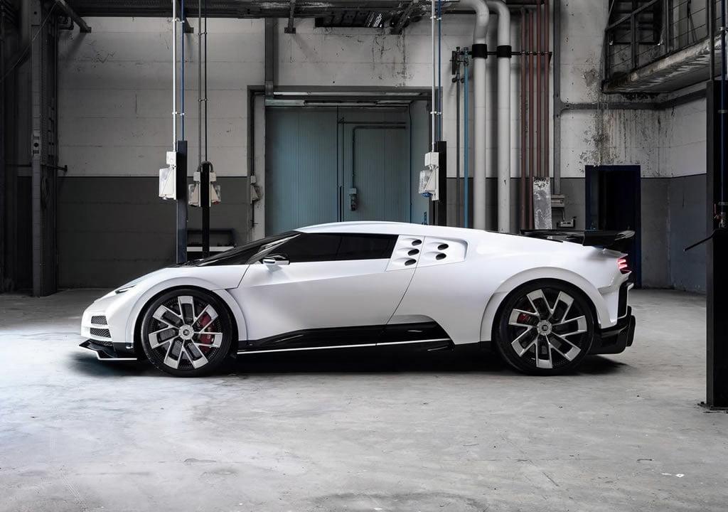 2020 Yeni Bugatti Centodieci Motoru