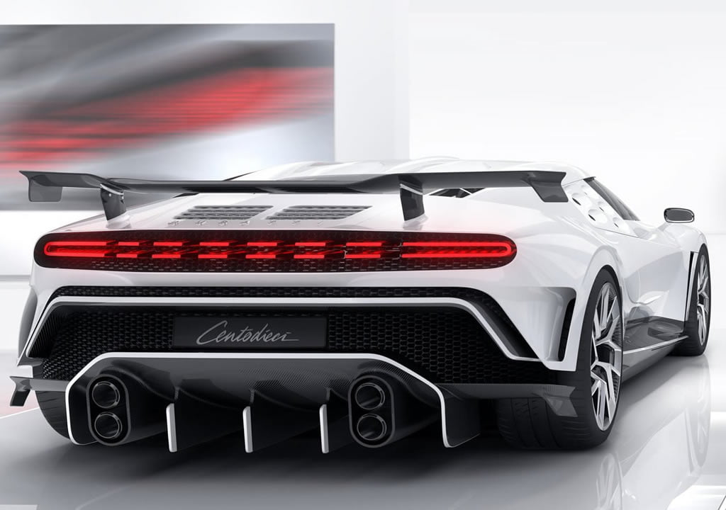 2020 Yeni Bugatti Centodieci Kaç Beygir?