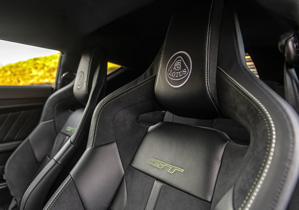 2020 Yeni Lotus Evora GT İçi