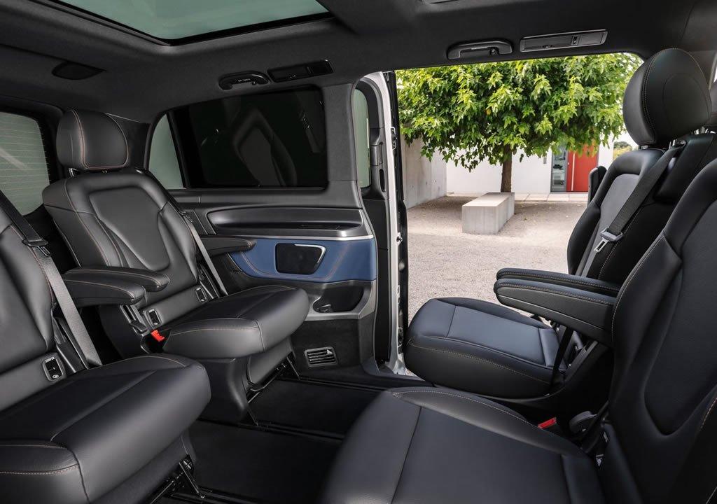2020 Yeni Mercedes-Benz EQV Fotoğrafları