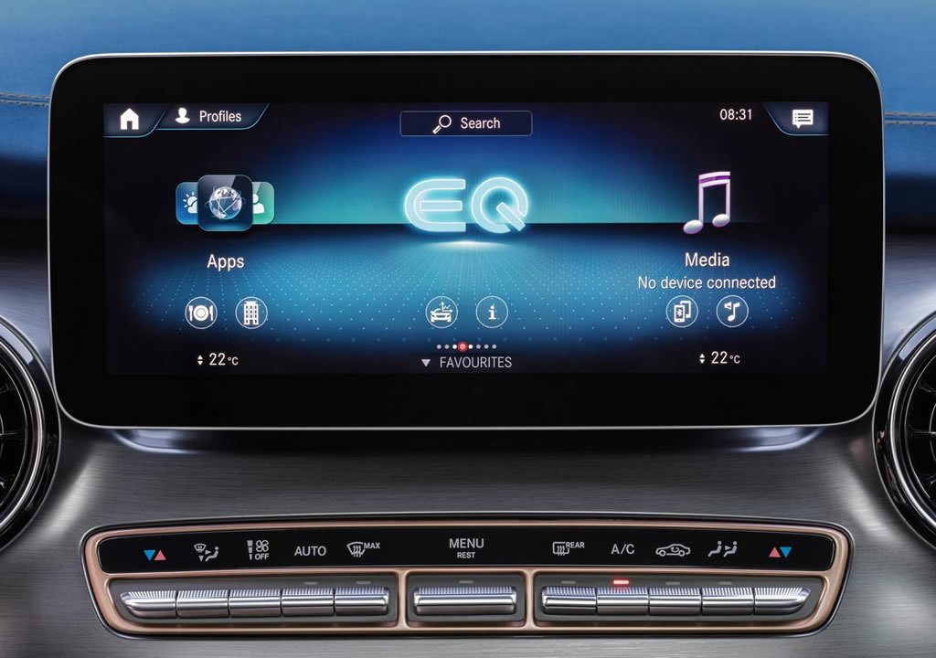 2020 Yeni Mercedes-Benz EQV 0-100