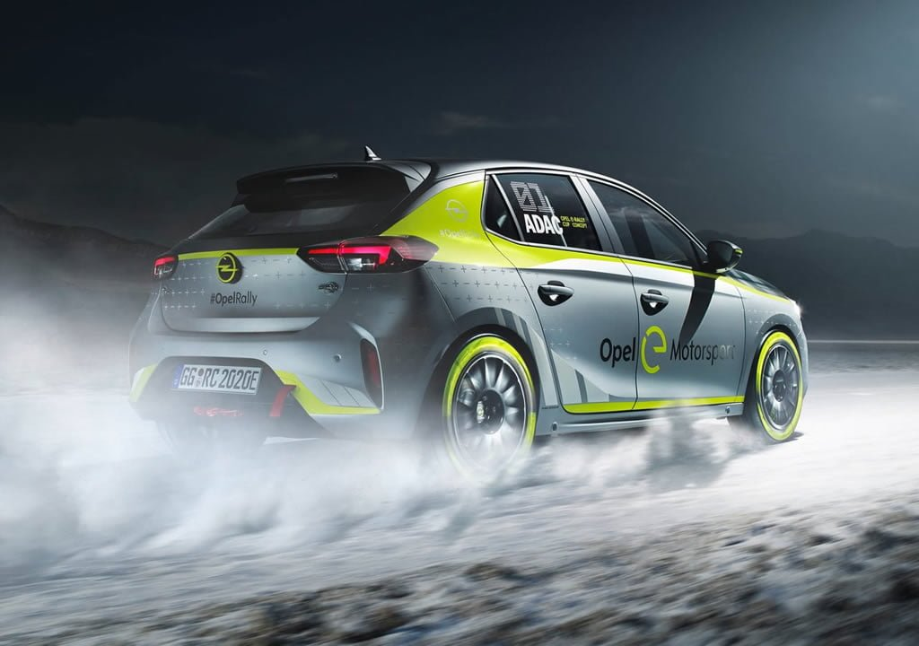 2020 Yeni Opel Corsa-e Rally Motoru