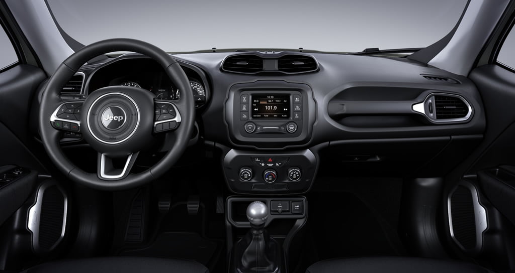 Yeni Jeep Renegade 1.0 Turbo Kokpiti