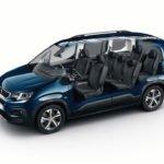 Yeni Peugeot Rifter Plus 7 Koltuklu