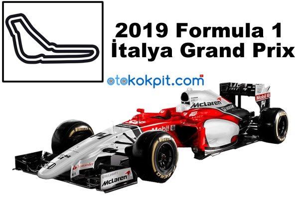 2019 Formula 1 İtalya Grand Prix Hangi Gün