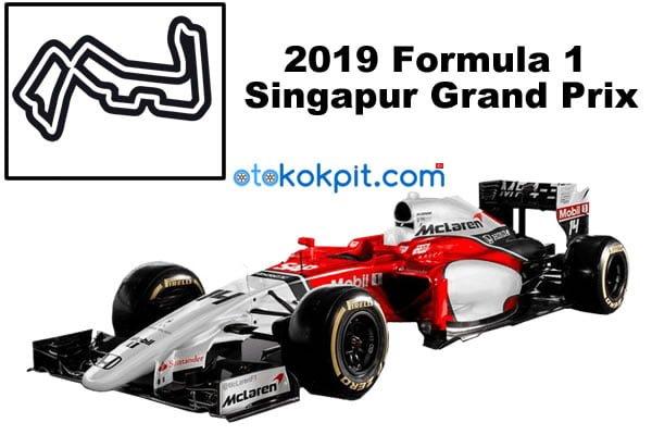 2019 Formula 1 Singapur Grand Prix Hangi Gün