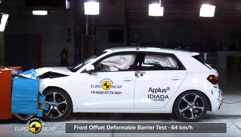 2019 Yeni Audi A1 Çarpışma Testi