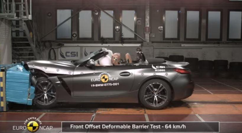 2019 Yeni BMW Z4 Euro NCAP Çarpışma Testi