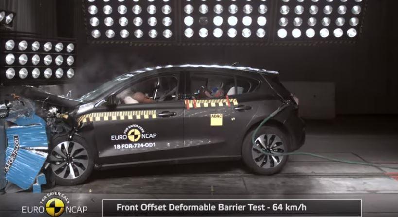 2019 Yeni Ford Focus Çarpışma Testi