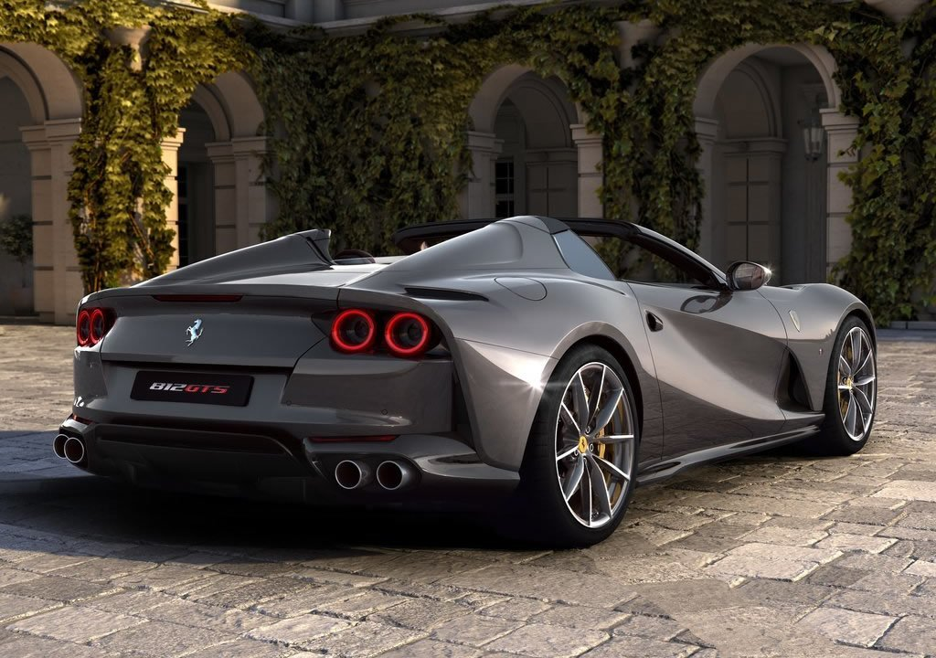 2020 Ferrari 812 GTS Donanımları