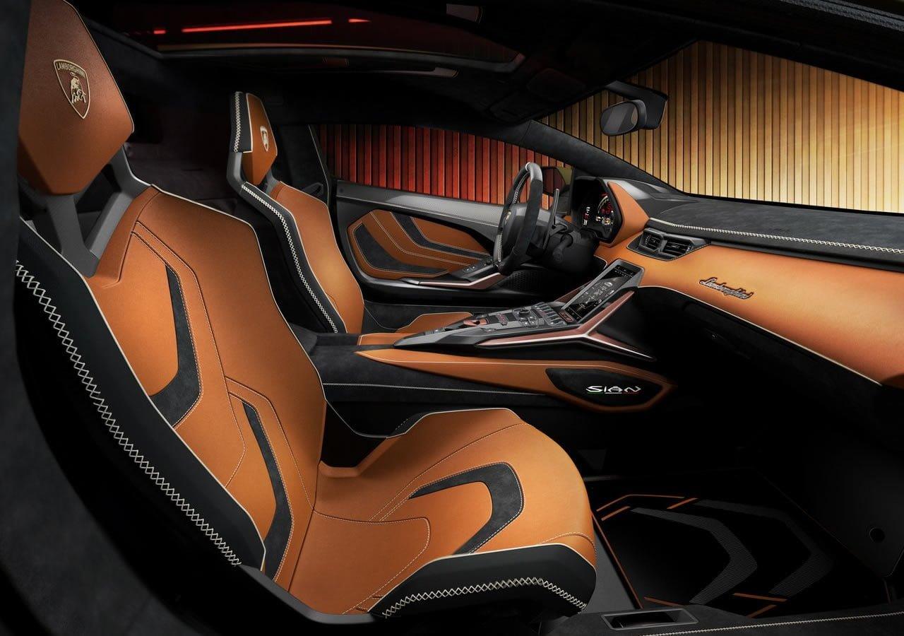 2020 Lamborghini Sian İçi