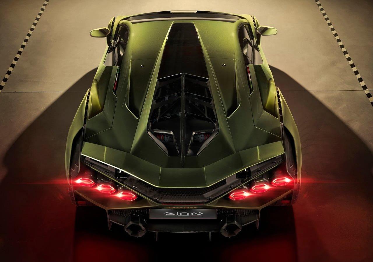 2020 Lamborghini Sian Kaç Beygir?