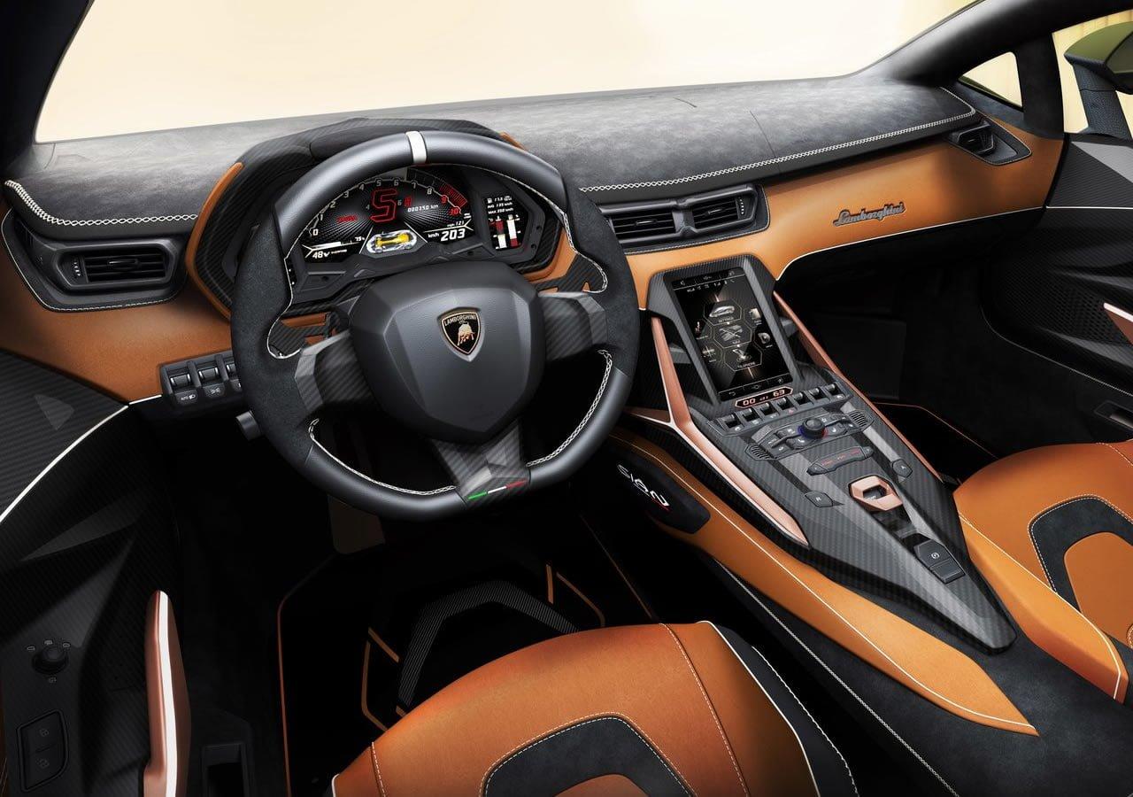 2020 Lamborghini Sian Kokpiti