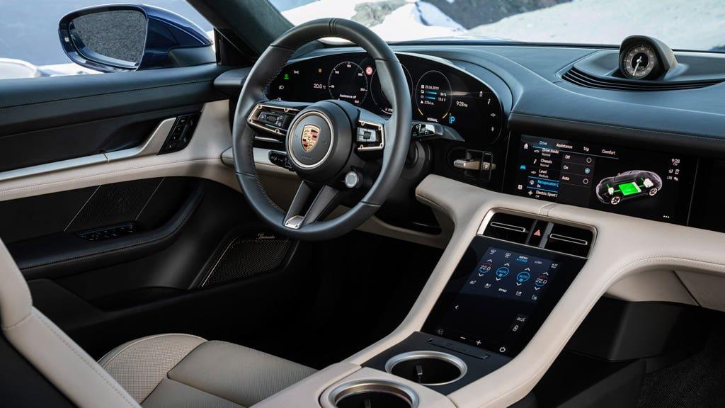 Porsche Taycan 0-100 km/s