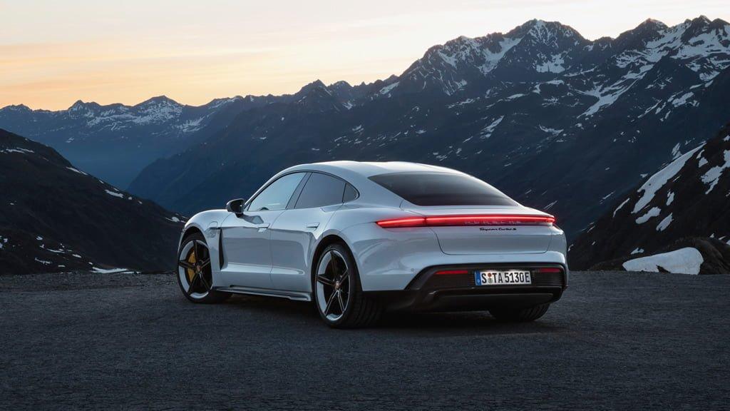 Porsche Taycan Menzili