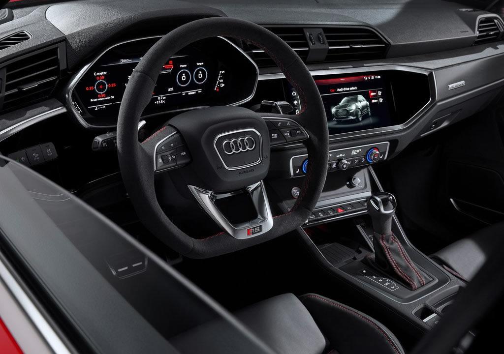 2020 Yeni Audi RS Q3 İçi