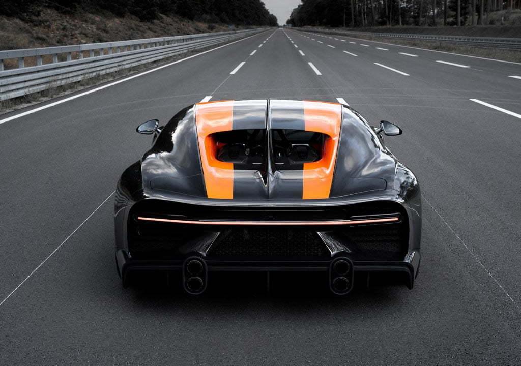 Bugatti Chiron Super Sport 300 0-100 km/s