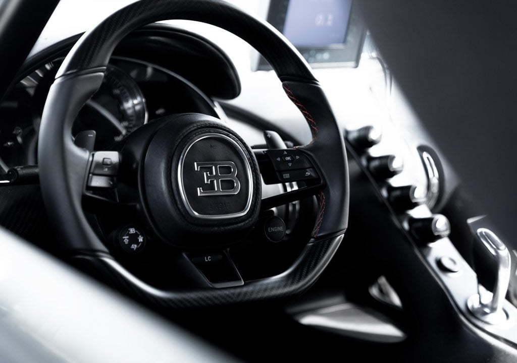 Bugatti Chiron Super Sport 300 Kokpiti