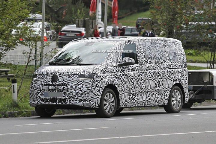 2021 Yeni Kasa Volkswagen Transporter T7