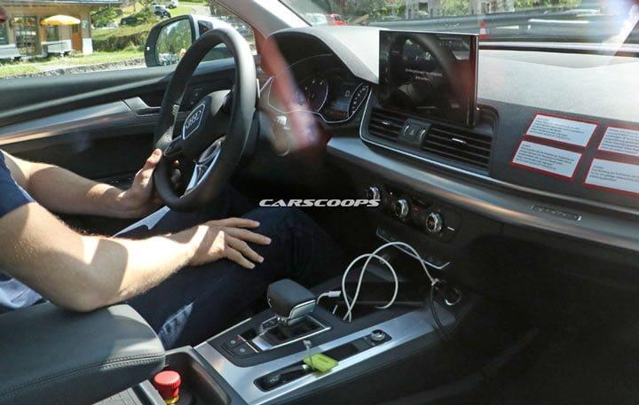 Makyajlı 2020 Audi Q5 Kokpiti