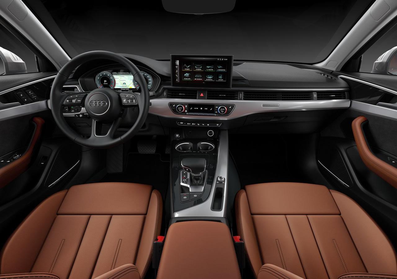 2020 Yeni Audi A4 PI Kokpiti