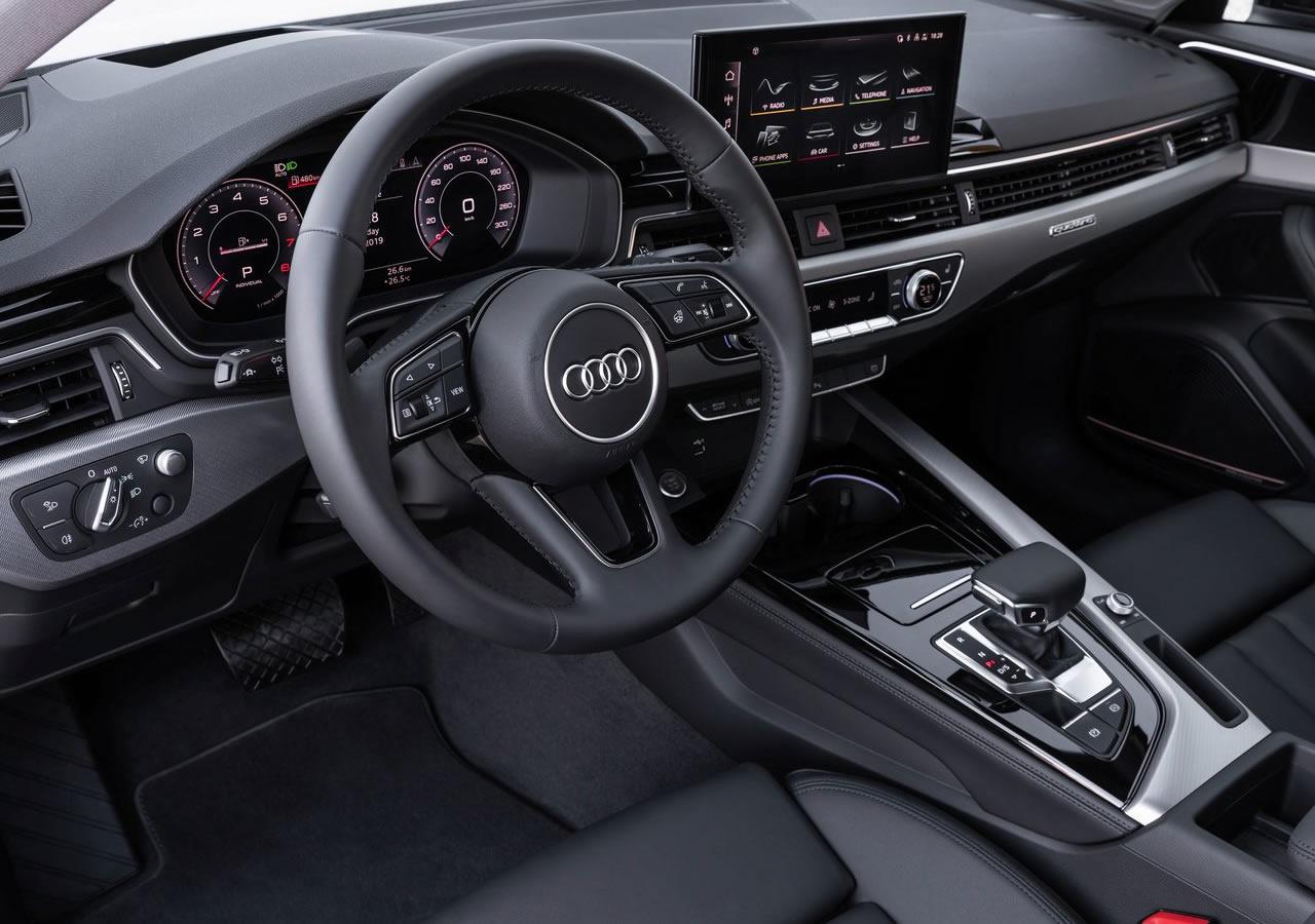 2020 Yeni Audi A4 PI İçi