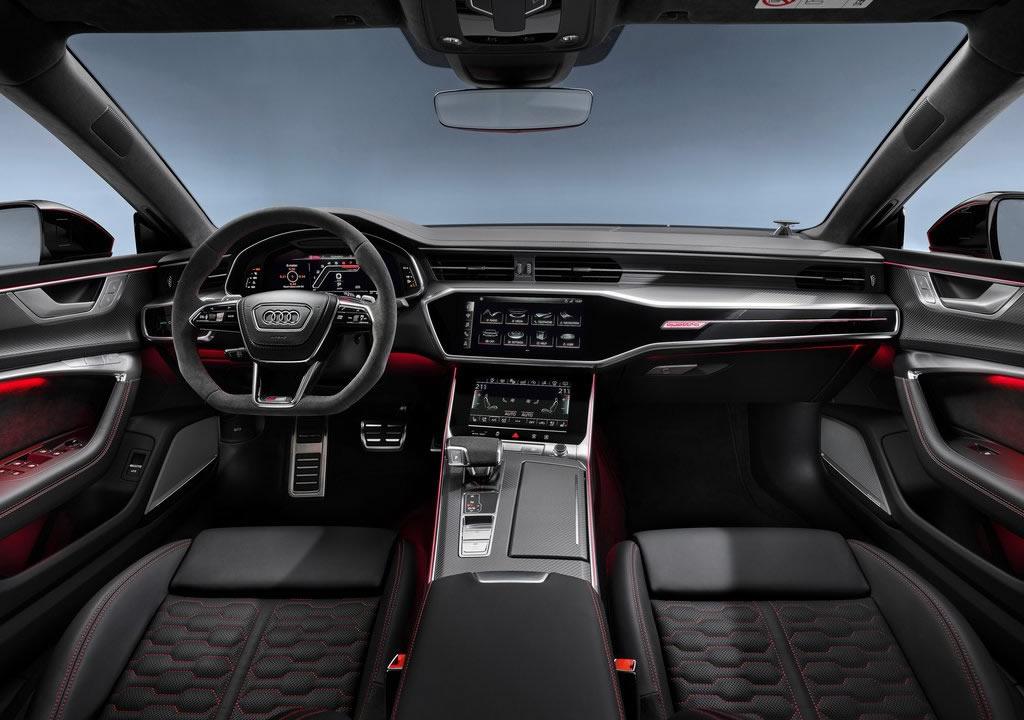 2020 Yeni Kasa Audi RS7 Kokpiti
