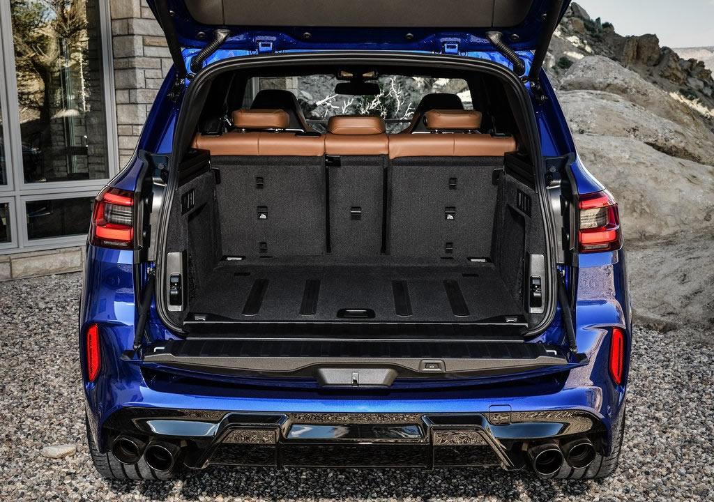 2020 BMW X5 M Competition Bagajı