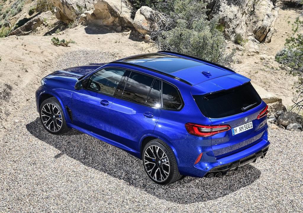 2020 Yeni Kasa BMW X5 M Competition Donanımları