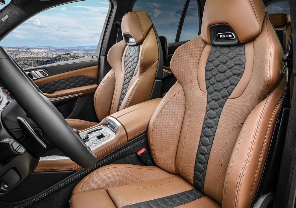 2020 BMW X5 M Competition İçi