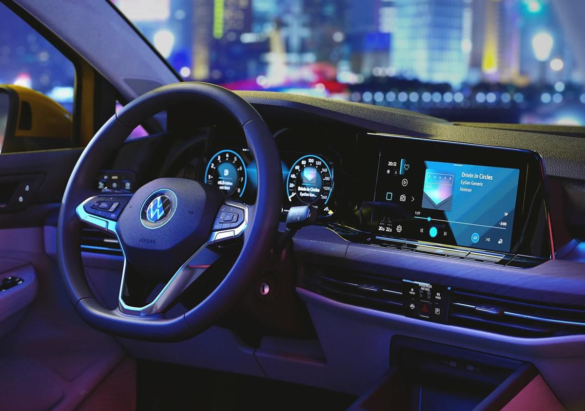 Yeni Volkswagen Golf 8 Yaşam Alanı