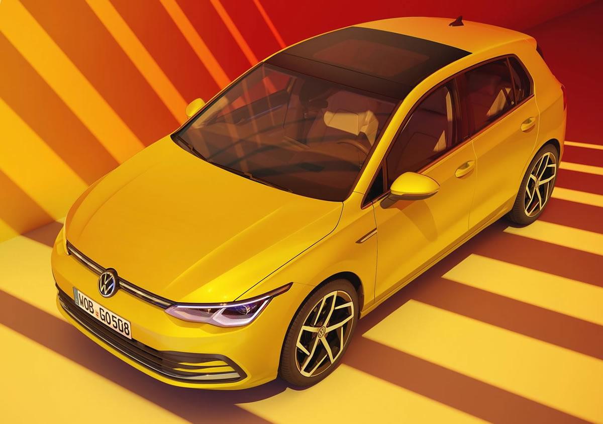 2020 Yeni Kasa Volkswagen Golf 8 Fotoğrafları