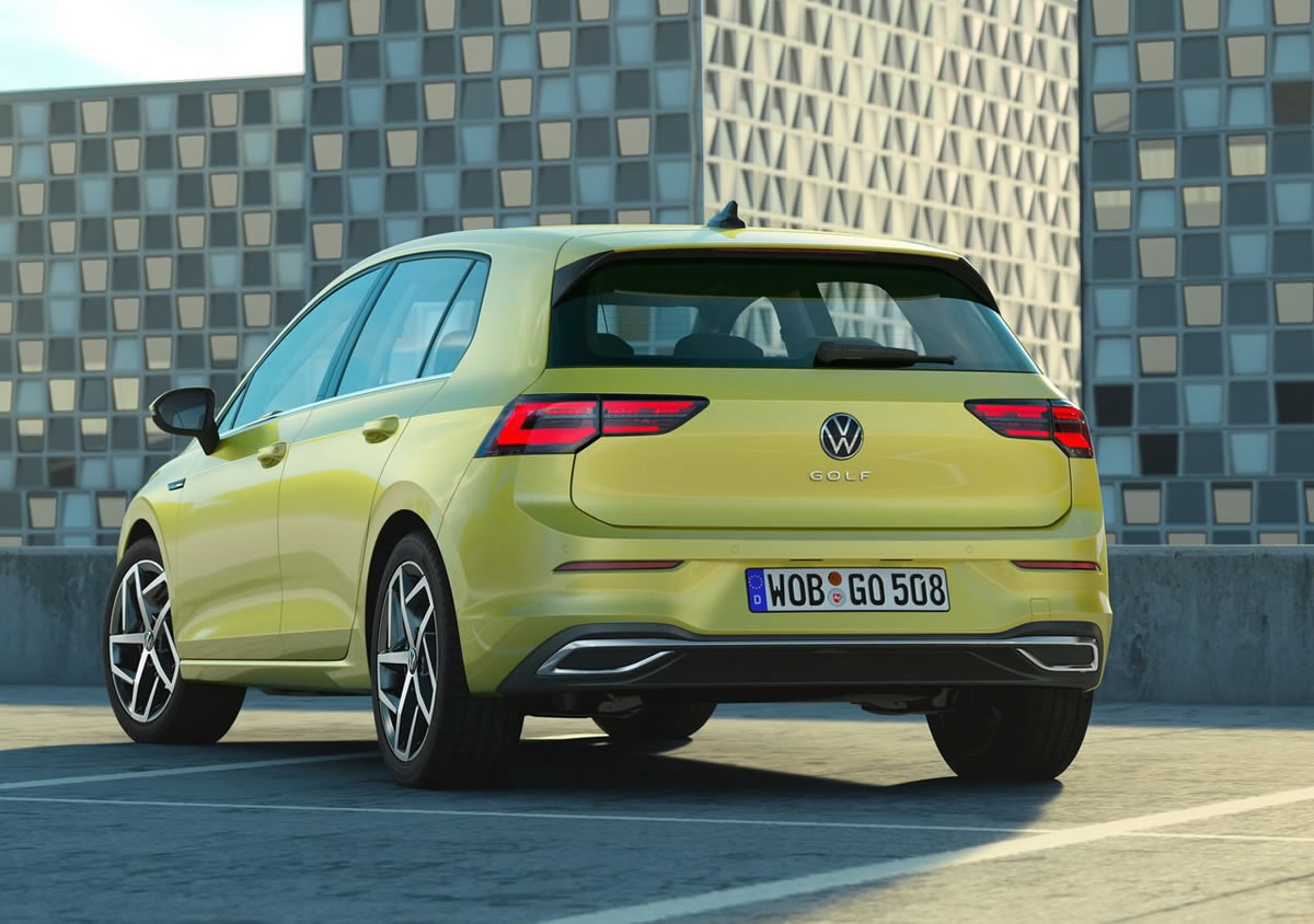 Yeni Kasa Volkswagen Golf 8