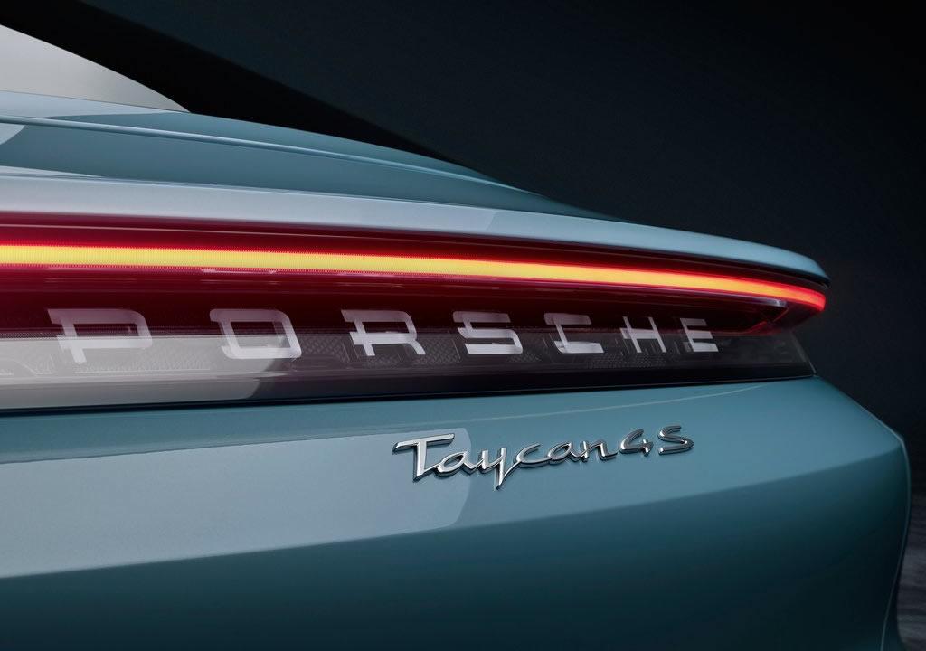 2020 Yeni Porsche Taycan 4S Fotoğrafları