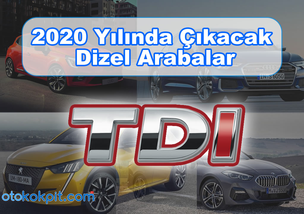 2020 Model Dizel Otomobiller