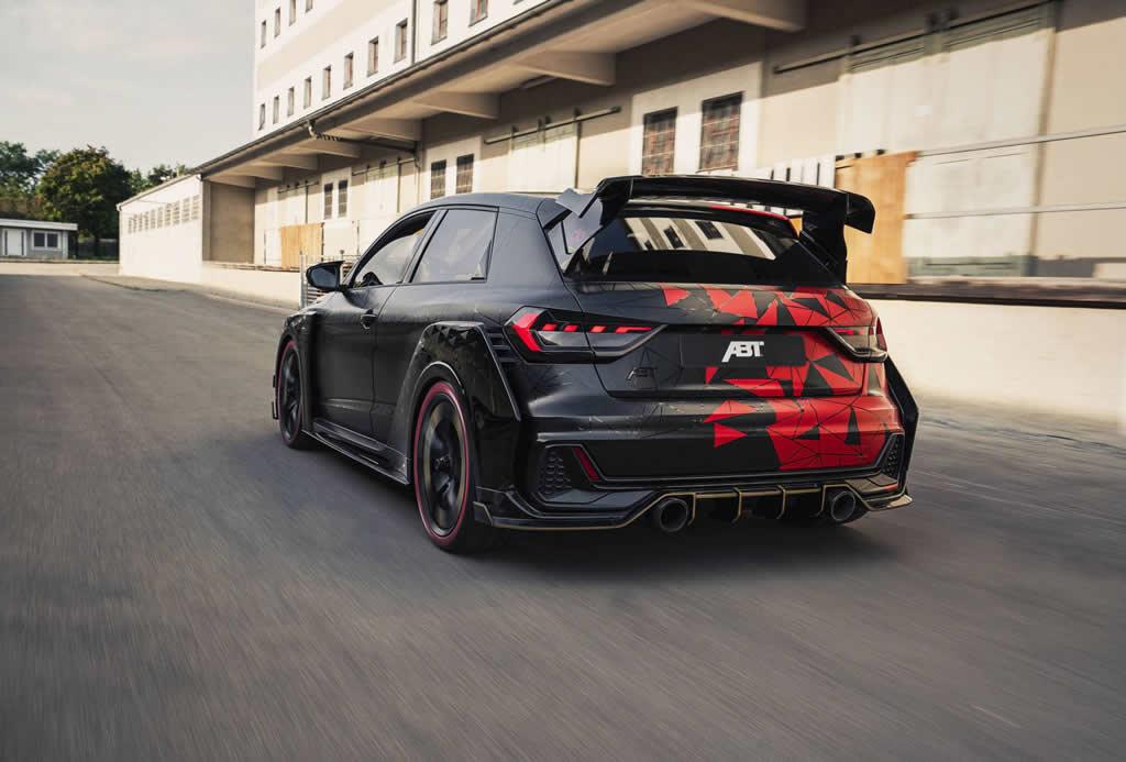 400 PS ABT Audi A1 Sportback